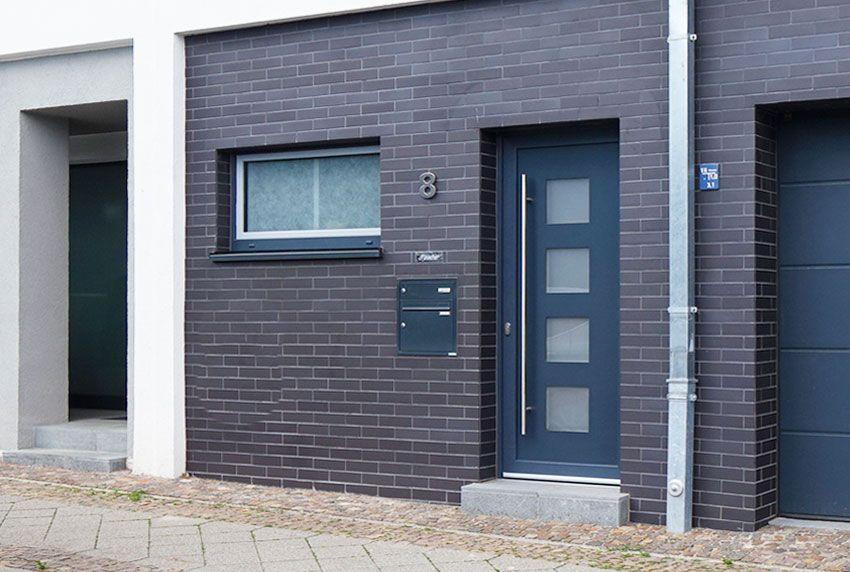 2er Briefkastenanlage passend zur Tür in Wunsch RAL Farbe