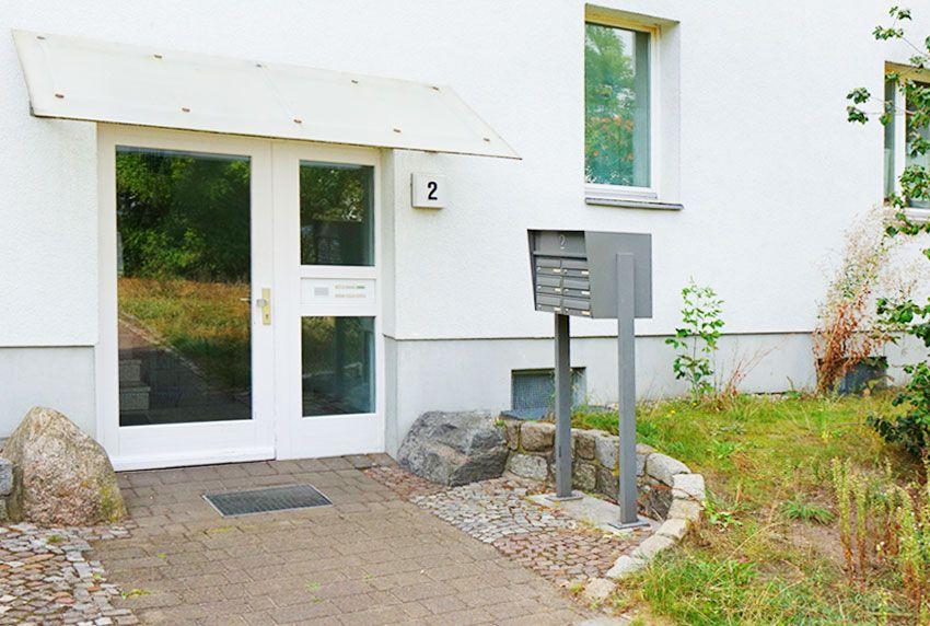 Auswahl der Anordnung an Kästen oder Postfächern in der Briefkastenanlage