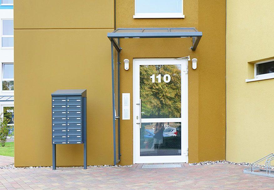 Bei der Suche nach einer geeigneten Briefkastenanlage geht es nicht nur darum den Stil des Hauses zu treffen