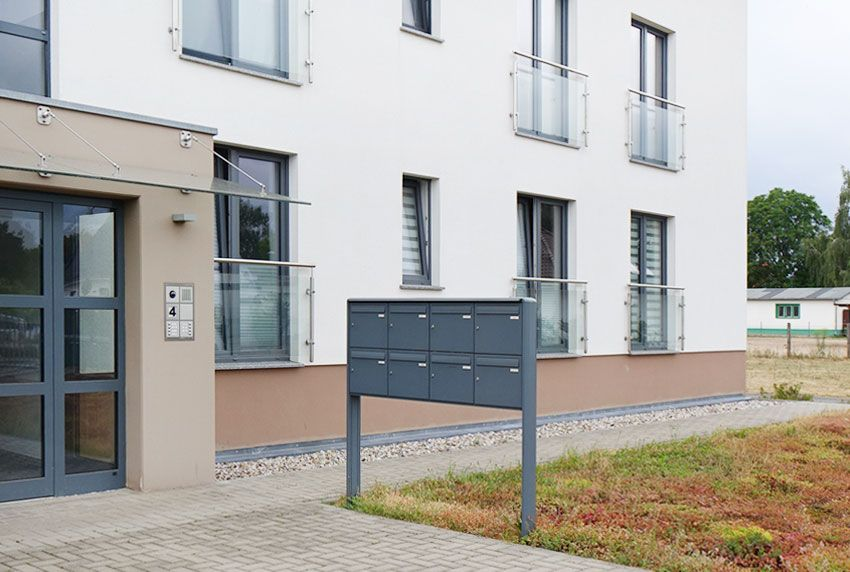 Besonders robuste Briefkastenanlage nach europäischer DIN Norm