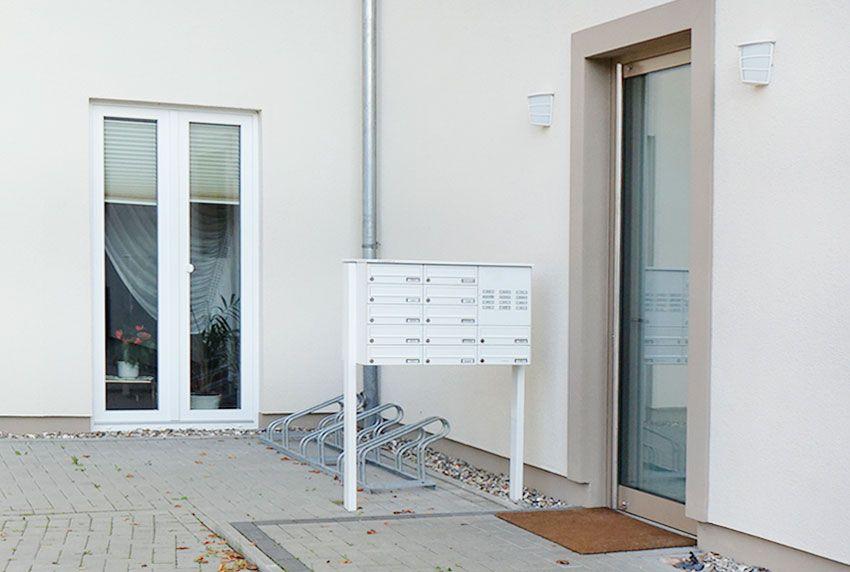 Briefkastenanlagen die eine Integration aller gewünschten Funktionen in einem einheitlichen Stil ermöglichen