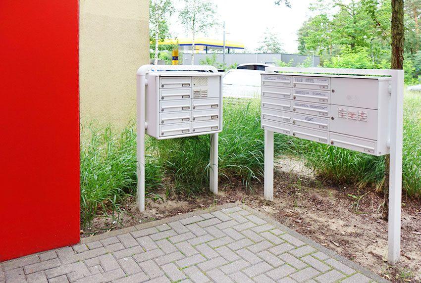 Briefkastenanlagenfächer selber beschriften und so flexibel bleiben