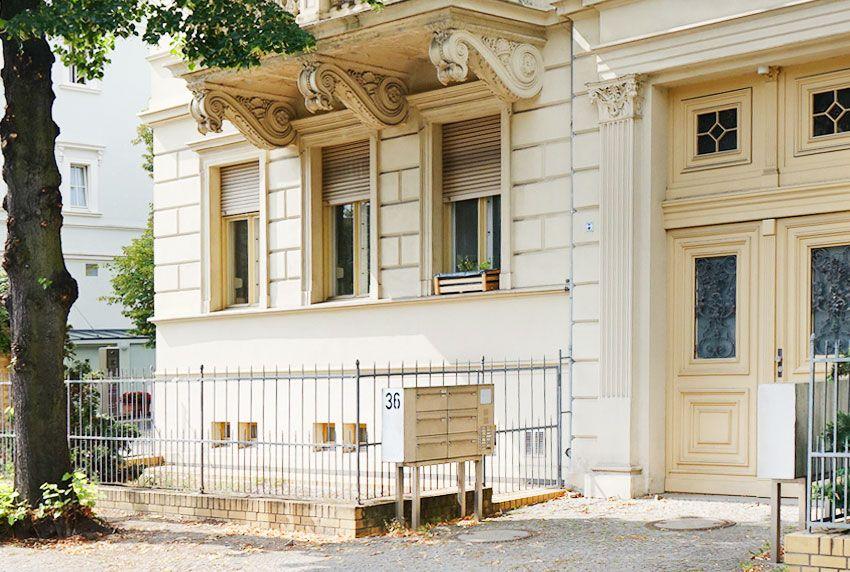 Briefkastenanlagen für Häuser mit Denkmalschutz