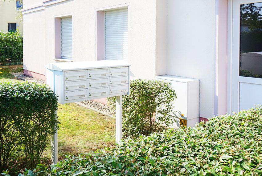 Doppelrohrstandbriefkasten als Postkastenanlage für mehr Familienhaushalte