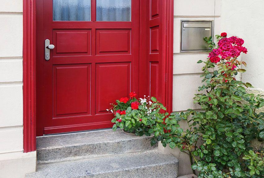 Edelstahl-Briefkastenanlage als Hausbriefkasten