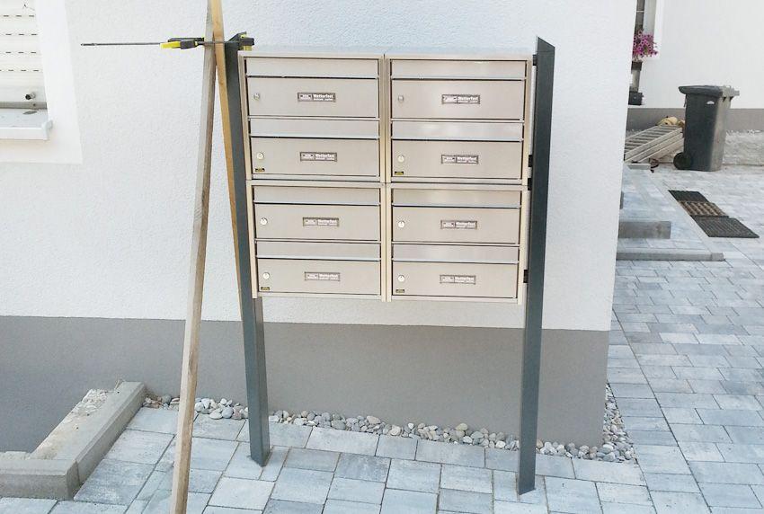cenator tipps zur montage von briefkastenanlagen. Black Bedroom Furniture Sets. Home Design Ideas