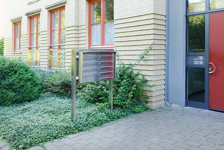 Funktionale Briefkastenanlagen für Mietwohnungen und Gewerbe - Made in Germany