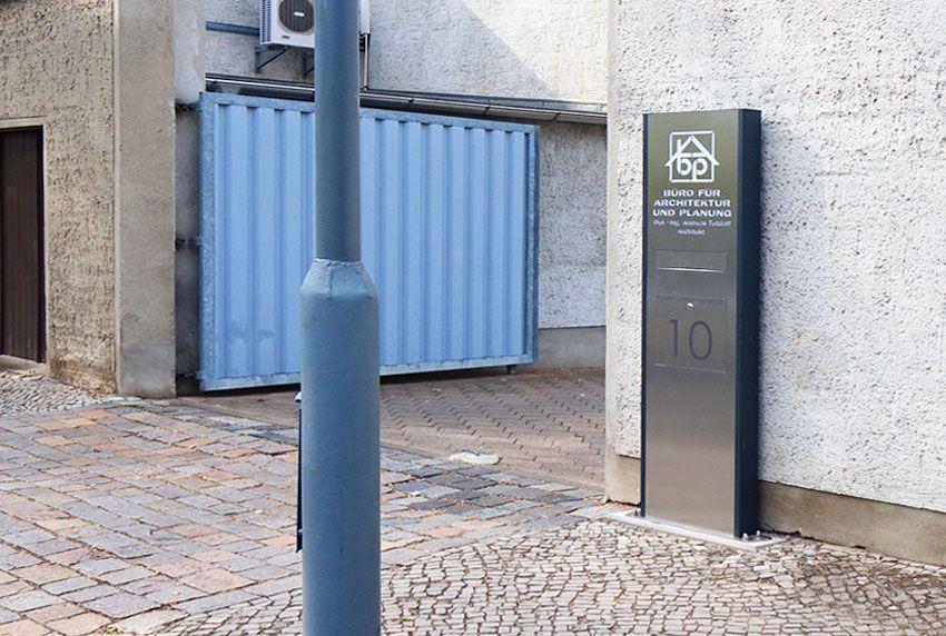 Geeignete Briefkastenanlagen für Gewerbebetriebe und Handwerk