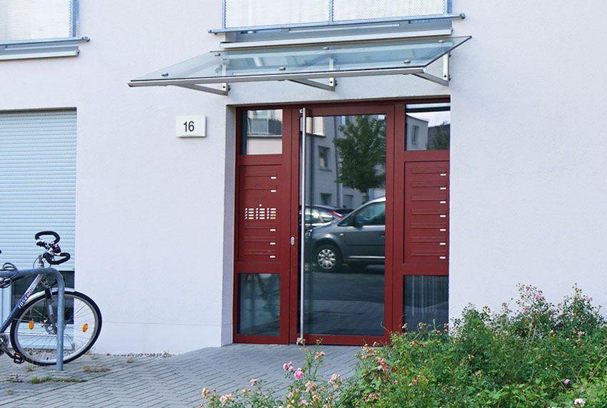 Getrennte Türseitenteil-Briefkastenanlage nach Kundenbedürfnissen