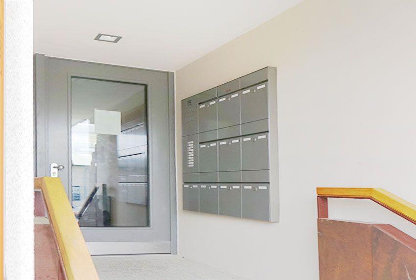 Günstige Aufputz Briefkastenanlage im Hauseingang verwenden
