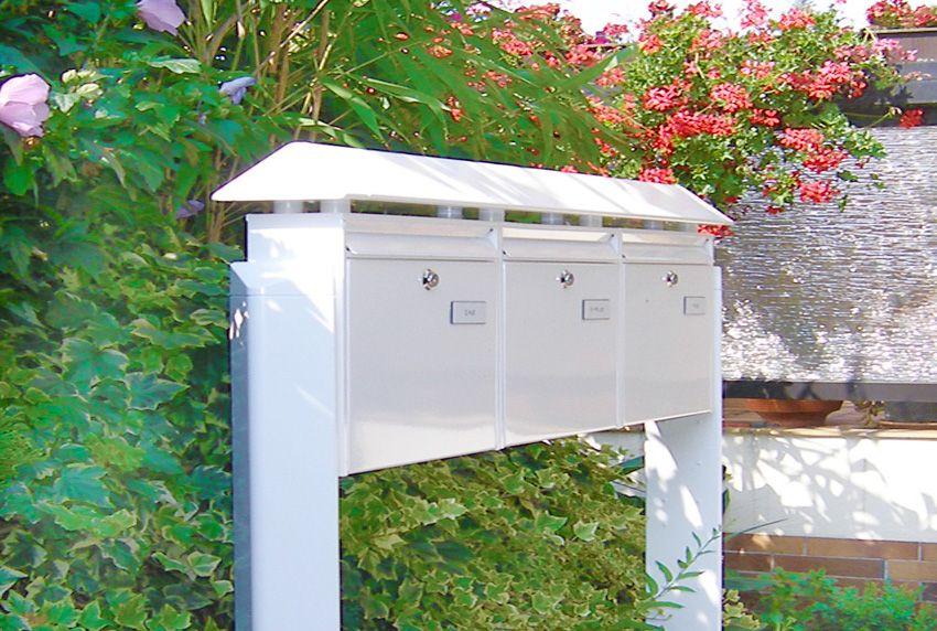 Hausrenovierung - Briefkastenanlage austauschen