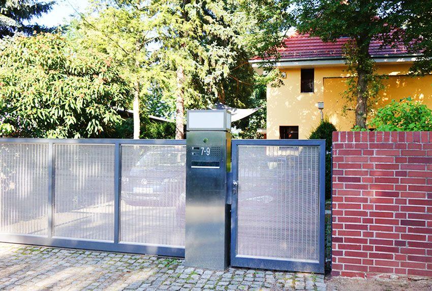 Hochwertig repräsentative Briefkästenmodelle speziell für Einfamilienhäuser