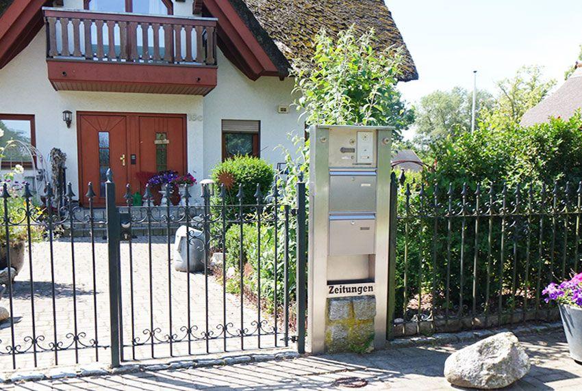 Individuelle Briefkastenanlage und Einzelkästen nach Kundenvorgabe