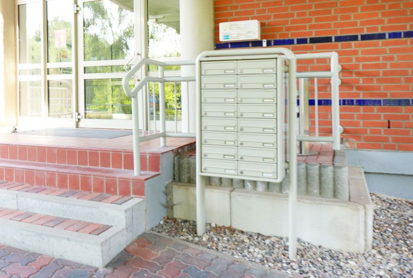 Klassische Briefkastenanlagen im funktionellem Design zum sicheren aufstellen