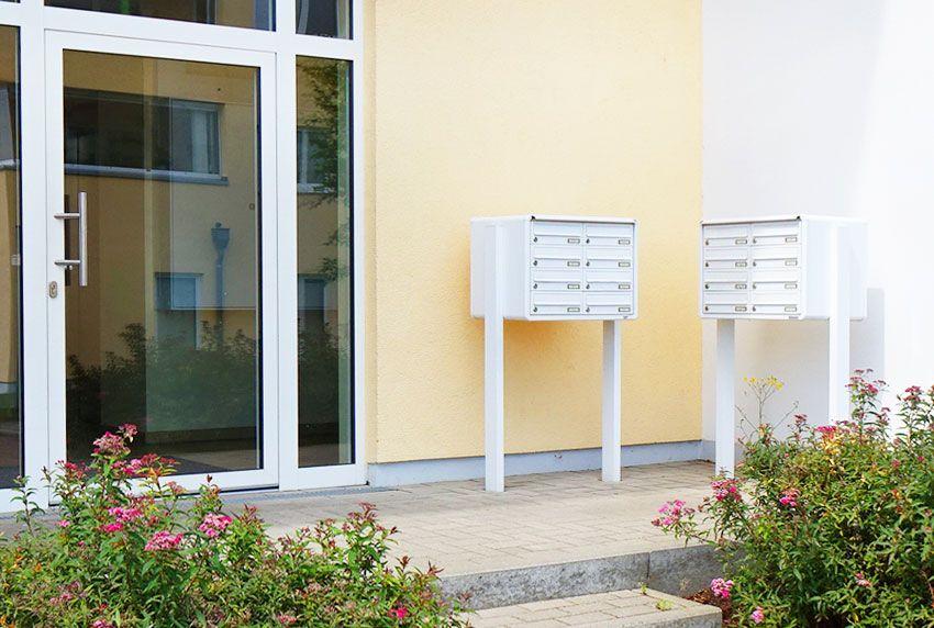 Mehrere Briefkastenanlagen optisch passend mit einander kombinieren