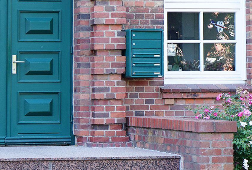 Nachkauf einer Briefkastenanlage zur Außenwandmontage