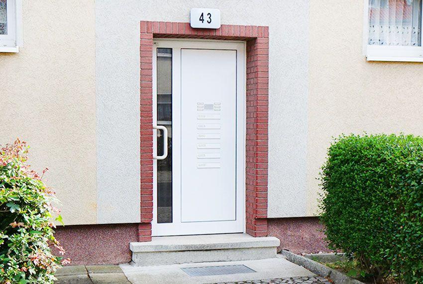Optimale Briefkastenanlage für wenig Platz im Eingangsbereich