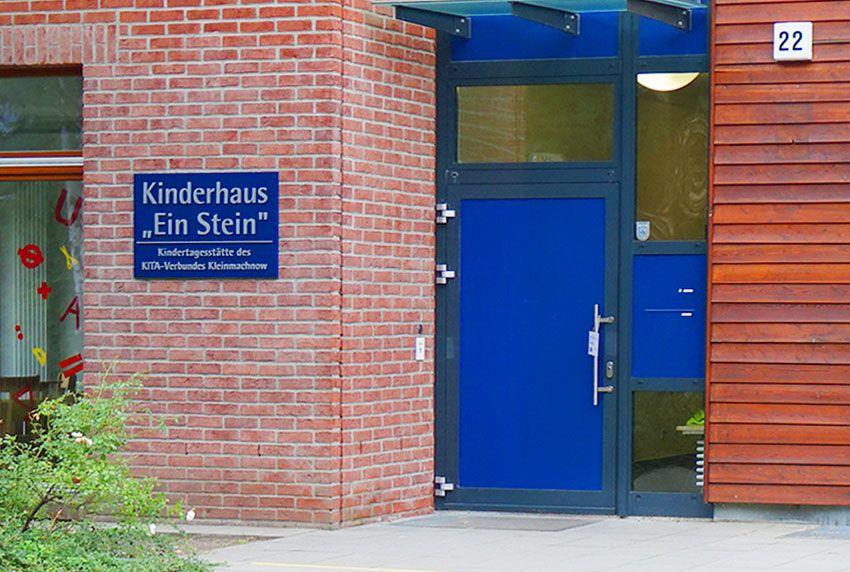 Türblendbriefkastenanlage mit Entnahme von innen für Kindertageseinrichtungen