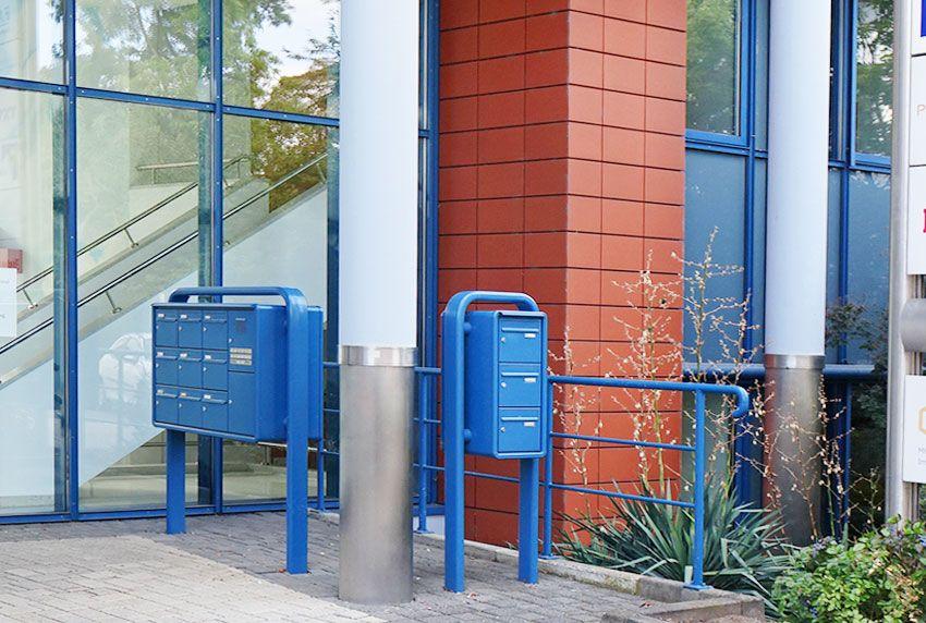 Vorhandene Platzverhältnisse für Briefkastenanlagen optimal nutzen