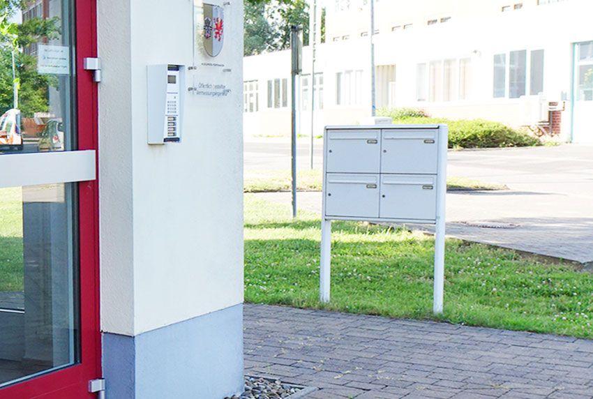 Werks-Briefkastenanlagen für Industrie und Gewerbe