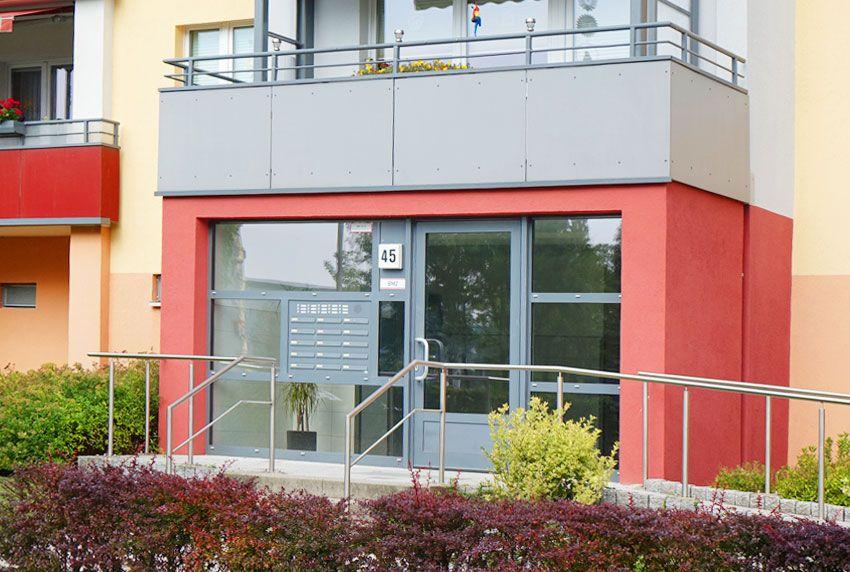 Wohnhäuser mit über 4-Wohneinheiten und die hierzu passenden Briefkastenanlagen