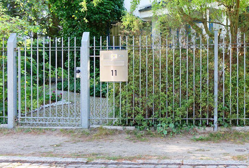 Zaun und Hausumfeld mit hochwertiger Briefkastenanlage aufwerten